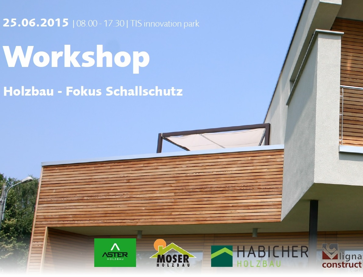 workshop holzbau focus schallschutz. Black Bedroom Furniture Sets. Home Design Ideas